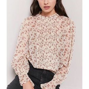 Forever21 Floral Blouse—WORN ONCE